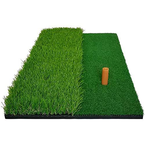 ZHIFENGLIU Tapis De Percussions Golf, 2 en 1 À Court Et Long Tapis De Coupe d