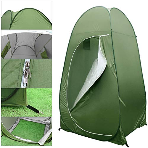 DFANCE Portable Privacy Tent, Camping Instant Pop Up Tent Outdoor Camping Caravan Picnic Fishing Beach Tent Waterproof Privacy Room Shelter for Changing Dressing Bathing