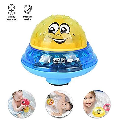 Mopoq Scarecrew Badespielzeug Licht neue kreative niedliche elektrische Induktionssprinkler Spielzeug Badewanne kleinen Brunnen sicher und energieeffizient Wasser Spielzeug ideal for Baby-Dusche Induk