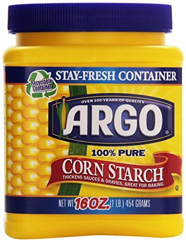 Argo 100% Pure Corn Starch, 16 Oz - PACK OF 5