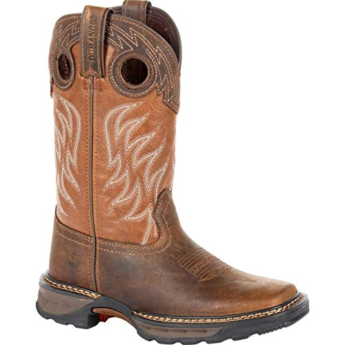 Durango Lil Maverick XP Big Kids Brown Western Work Boot