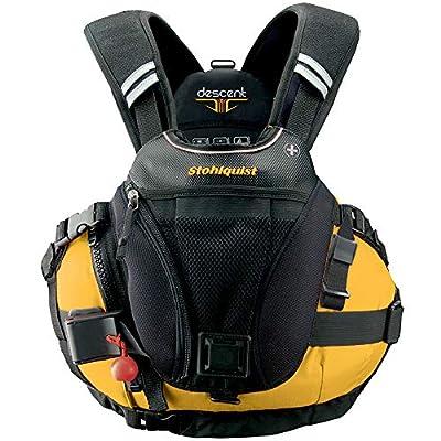 Stohlquist Descent Personal Floatation Device, Mango, Large/X-Large