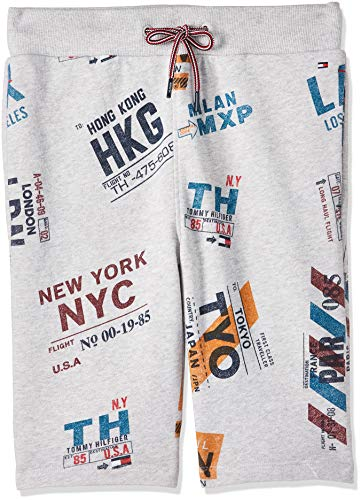 Tommy Hilfiger AOP Sweatshorts Pantalones Cortos para Niños