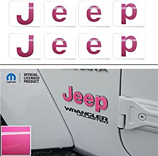 Best pink jeep logo Reviews