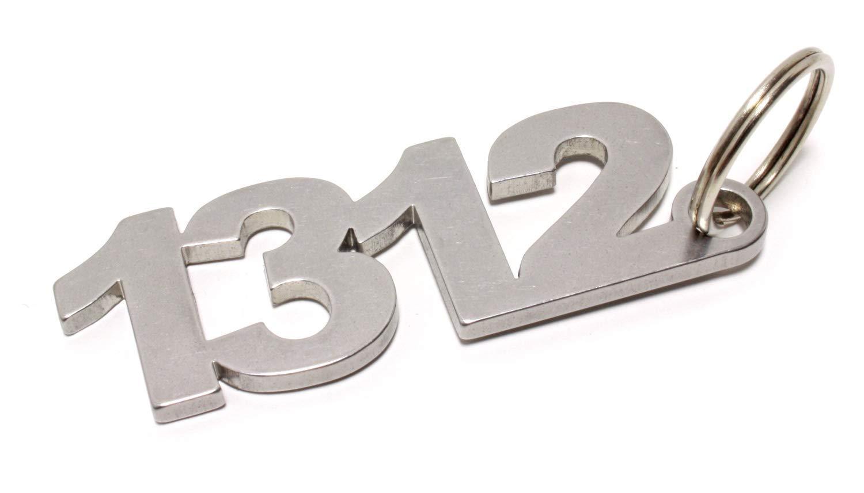 1312 Acab Anti Cop Schlüsselanhänger Keychain Aus Edelstahl Shocker Dub Dubway Auto