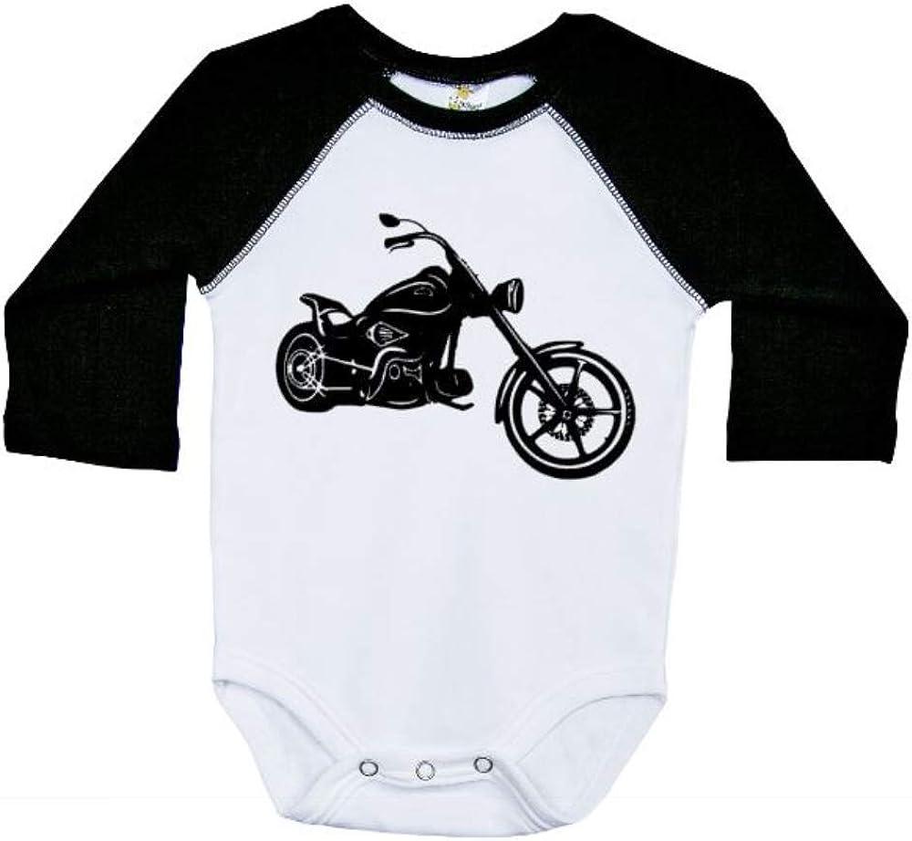Ebenezer Fire Street Seattle Mall Special price Bike Baby N Motorcycle Outfit Raglan Onesie