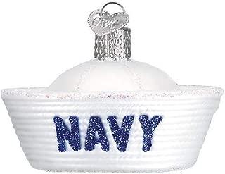 Old World Christmas Navy Cap