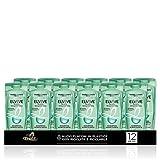 L'Oréal Paris Multi Pack Shampoo Argilla Straordinaria Purificante per Capelli con Radici Grasse e Punte Secche, 300 ml, Confezione da 12