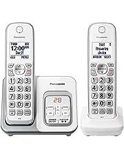 تليفون لاسلكي بناسونيك موديل KX-TGD532W ابيض  2 سماعة