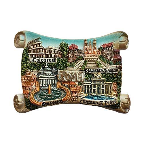 Rom Italien 3D Kühlschrankmagnet Reise Aufkleber Souvenirs Haus & Küche Dekoration Roma Kühlschrankmagnet aus China