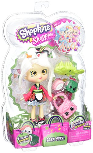 Shopkins Shoppies Sara Doll Sushi Season 5