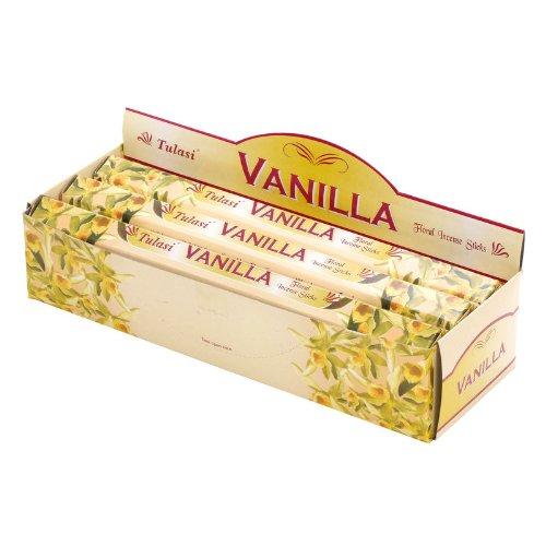 Salco 82-0490 Tulasi Incienso - fragancia de vainilla 6x20