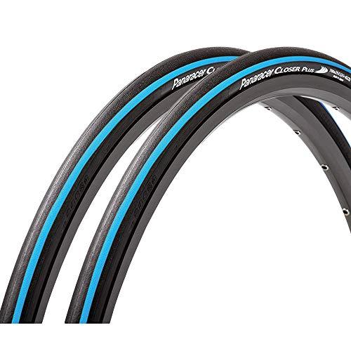 パナレーサー(Panaracer) クリンチャー タイヤ 2本セット クローザープラス CLOSER PLUS [700×25C] (ブルー) 自転車 タイヤ ロードバイク クロスバイク トレーニング レーシング