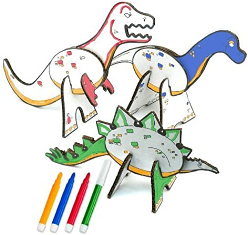 compras en linea Topozoo Dinosaur Dinosaur Dinosaur Create and Color Playset by Topozoo  edición limitada en caliente