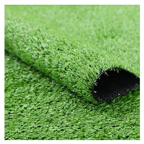 CarPET RDJSHOP Artificial Turf Grass 15mm Pile Height Simulation Green Grass Suitable For Garden Terrace Pet Pad Decoration Fake Lawn (Size : 2x7m)