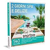 Smartbox - Due Giorni Spa e Delizie - Cofanetto Regalo Coppia, 1 Notte con Colazione, Cena e Pausa Wellness per 2 Persone, Idee Regalo Originale