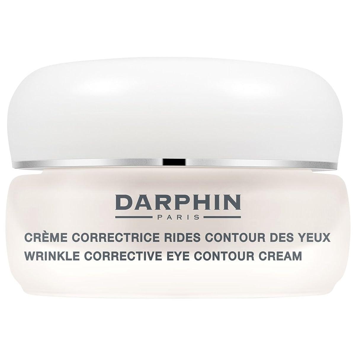 大聖堂解釈的フェザーダルファンのシワ矯正アイ輪郭クリーム15ミリリットル (Darphin) (x2) - Darphin Wrinkle Corrective Eye Contour Cream 15ml (Pack of 2) [並行輸入品]