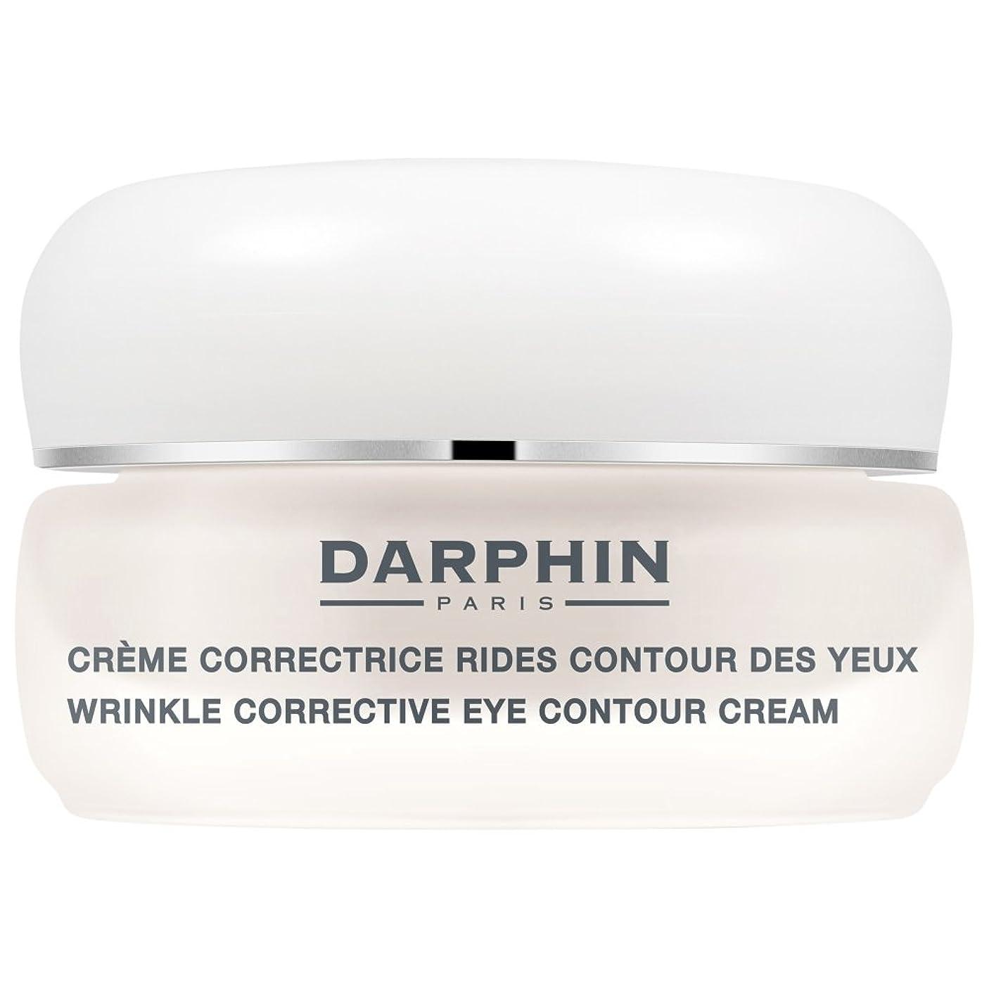 ポーン怠アソシエイトダルファンのシワ矯正アイ輪郭クリーム15ミリリットル (Darphin) - Darphin Wrinkle Corrective Eye Contour Cream 15ml [並行輸入品]