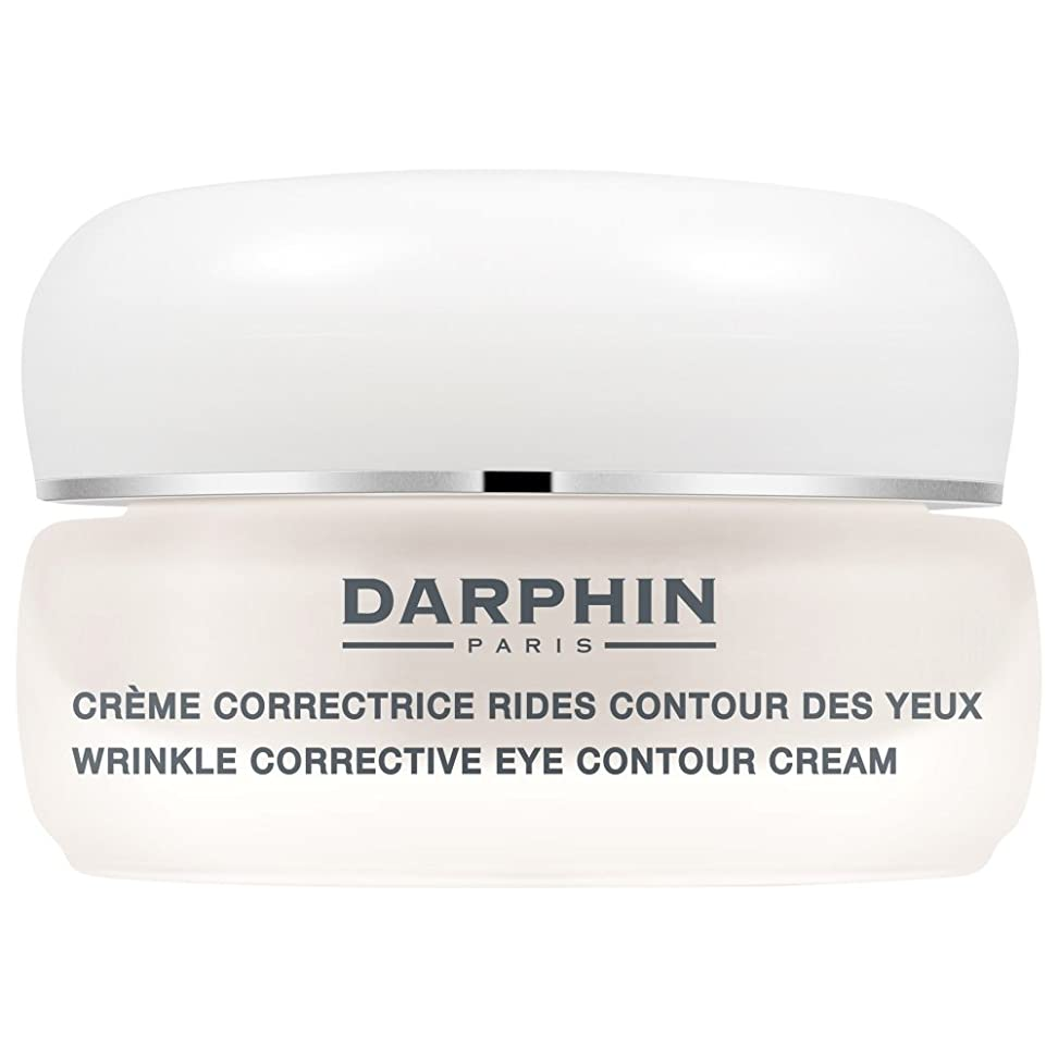 名前を作る一掃する破壊ダルファンのシワ矯正アイ輪郭クリーム15ミリリットル (Darphin) - Darphin Wrinkle Corrective Eye Contour Cream 15ml [並行輸入品]