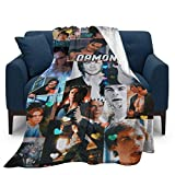 Vividuke Ultra-Soft Micro Fleece Throw Blankets for Home Couch Bed Sofa Cozy Warm 3D Printed Blanket for Kids Adults 50'X40'