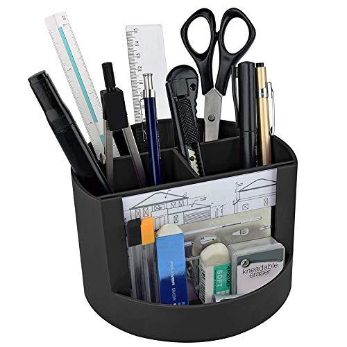 Mix Organizer - Organizador de Mesa c/Porta Foto, Suporte para Lápis e Acessórios, Acrimet, (Cor Preto)