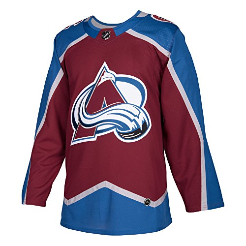 adidas Colorado Avalanche Home NHL Men's Climalite Authentic Team Hockey Jersey (50/M)