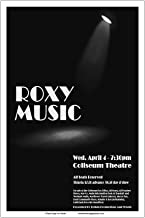 Raw Sugar Art Studio Roxy Music 1979 Cleveland Concert Poster