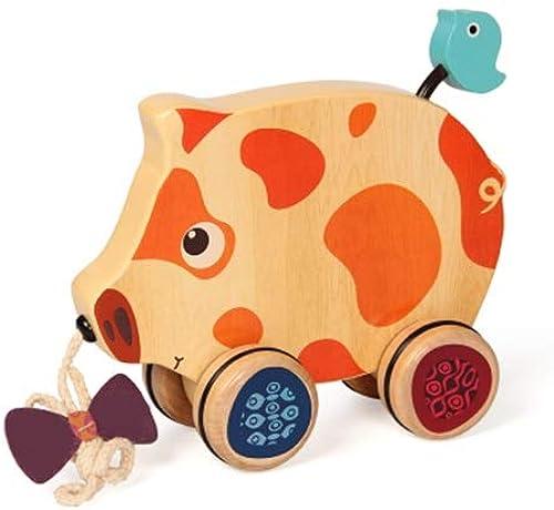 orden ahora disfrutar de gran descuento LXRZLS Tire a lo Largo del Juguete - Tire de de de los carros de Mano Walker para bebés, Animales creativos vehículos de Juguete  soporte minorista mayorista