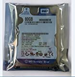 80GB 2.5' IDE Hard Drive Western Digital WD800BEVE