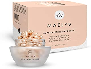 Maelys ELIXIR - Anti Aging Collagen Capsules for Face | Anti Wrinkle Serum Pill, Facial & Skin Tightening | 45 Pack