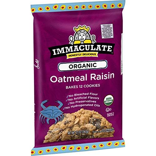 Immaculate Baking Organic Oatmeal Raisin Cookie, 12 oz