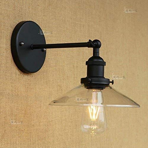 Industrielle Vintage Silber Wandleuchte Cafe Bekleidungsgeschäft Verstellbarer Arm LED Wandleuchte Ba?O Wandleuchte Wandleuchte (Farbe: Transparenter Bildschirm)