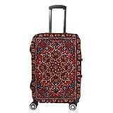 Ruchen - Funda protectora para maleta, tribal persa, boho, étnico, escarlata, para...