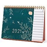 Calendario da tavolo 2021 Everyday Boxclever Press con vista mensile. Calendario 2021 da tavolo da Gen a Dic'21 con lista delle cose da fare. Calendario 2021 da scrivania per la casa o l'ufficio.
