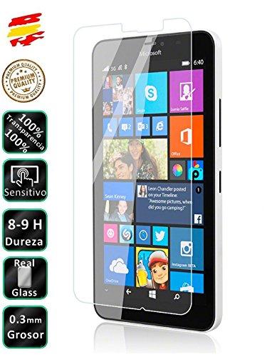 9H Displayschutzfolie aus gehärtetem Glas für Nokia Lumia 640XL LTE