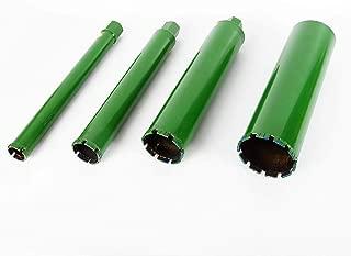 2.2'' 3'' 4'' 5'' Wet Diamond Core Drill Bit for Concrete Premium Plumber Tool Green Hard Concrete Block Brick Tool 4 sizes