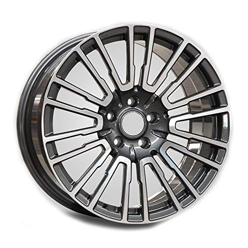 GYZD Llantas de aleación Rueda forjada de Flujo de 19 Pulgadas,máquina para Ruedas de Coche, llanta de Aluminio para neumáticos R19*9.5J, Adecuada para X1 X3 X5 X6 m5 PC 1,S