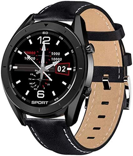 hwbq Reloj inteligente para mujer, resistente al agua, ejercicio, detección de fitness, esfera reemplazable, pulsera inteligente, reloj Android para hombre-F