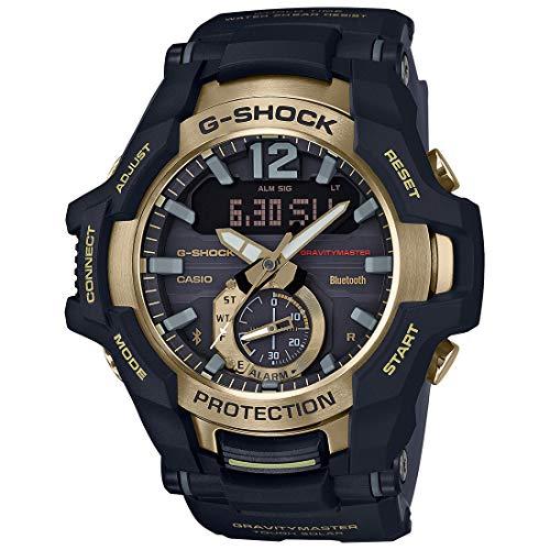 Casio G-Shock Reloj para hombre con esfera negra de cuarzo GRB100GB-1A