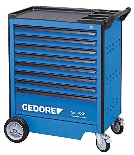 Gedore 2005 0701 Werkzeugwagen mit 8 Schubladen