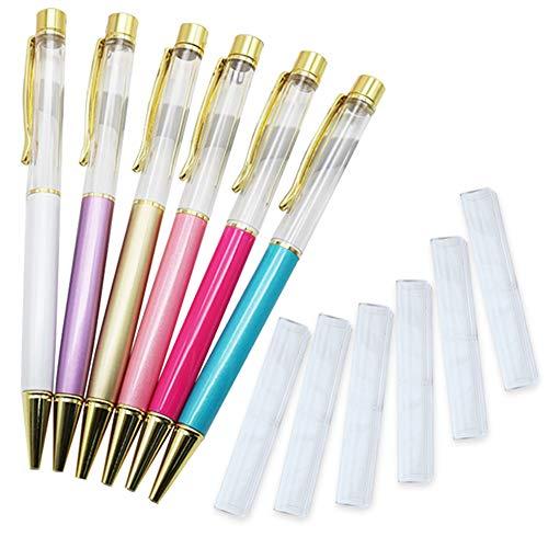 Almmy.6 ハーバリウム ボールペン6本&ギフト用ケース6個セット プレゼント 展示 ディスプレイ 販売 に