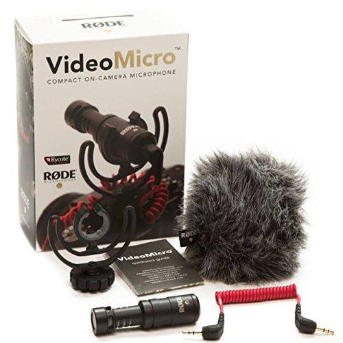 Rode Microphones VideoMicro - Micrófono para cámaras DSLR, surtido: colores...