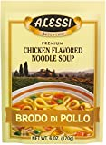 Authentic Italian soup mix full of vegetables, pasta, and select spices Simple and easy preperation; ready in less than 15 minutes Thick and hearty, perfect for a cold day Low fat Try the entire line of Alessi Authentic Italian Soups!