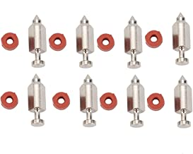 Dxent 8 Pack 281144 398188 Valve Needle Seat Kit for Briggs and Stratton 91400 93400 90700 91700 Series Engine Craftsman 917376271 917376430 Lawn Mower Toro 38629 38637 38624 Snowthrower