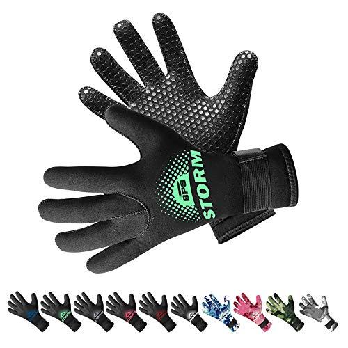 BPS Double-Lined Neoprene Wetsuit Gloves