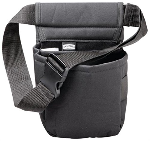 Uncle Mike's Padded Cordura Nylon Shell Bag (Black, One Size)