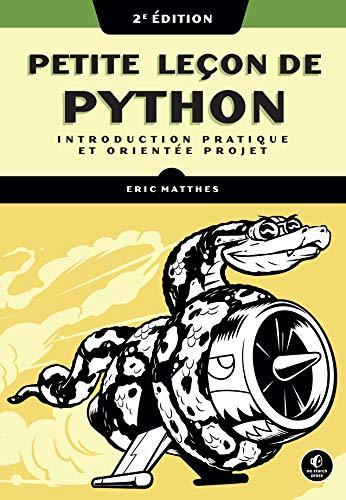 Petite leçon de Python 2e Ed. (VILLAGE MONDIAL)