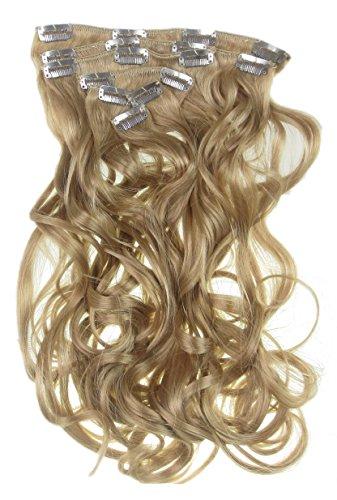 Toutes les couleurs disponibles, Extension De Cheveux Bouclée Blond Doré Miel 61 Cms De Longueur Vraiment Naturelle