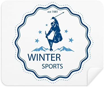 Winter Sport Ski Suit Watercolor Phone Screen Cleaner Glasses Cleaning...