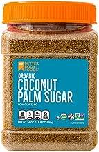 Organic Coconut Palm Sugar, Gluten-Free, Non-GMO Sweetener Substitute, 24 ounce